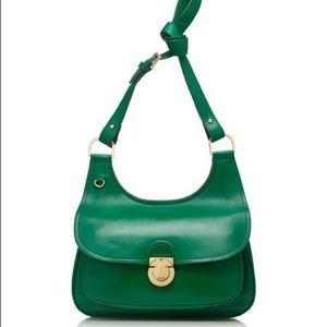 8532388de75 Tory Burch Bags - Tory Burch James Smooth Leather Saddle Bag